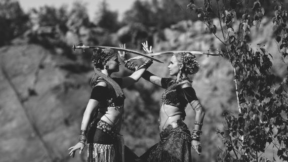 Tribal Belly Dance Workshop: Balancing Act: Intro to Props & Balancing
