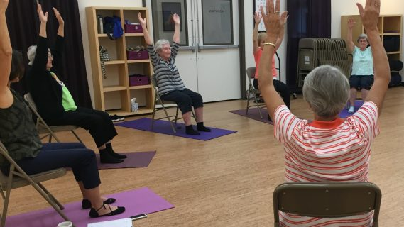 Chair Yoga 101: Workshop for People New to Yoga