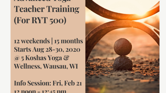 300 hour Yoga Teacher Training Info Session